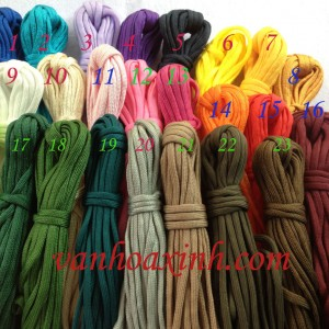 Cuộn 5m paracord dẹt size 5mm DNPR3-46A