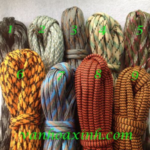 Cuộn 5m paracord dẹt size 5mm DNPR3-25A